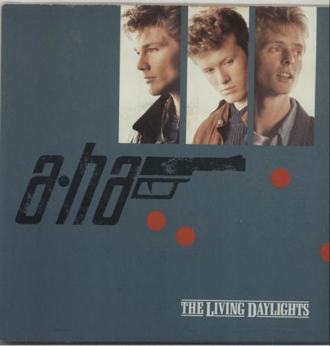 "A-Ha The Living Daylights - Solid 7"" vinyl single (7 inch record) UK AHA07TH658054"