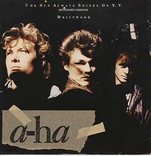 "A-Ha The Sun Always Shines On T.V. 12"" vinyl single (12 inch record / Maxi-single) UK AHA12TH11440"