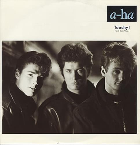 """A-Ha Touchy! (Go-Go Mix) 12"""" vinyl single (12 inch record / Maxi-single) UK AHA12TO19208"""