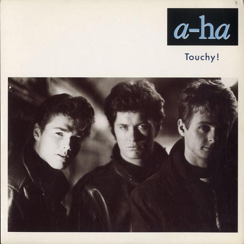 "A-Ha Touchy 7"" vinyl single (7 inch record) UK AHA07TO38390"