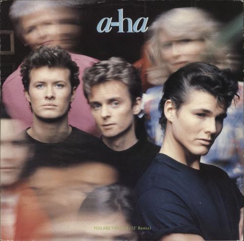 "A-Ha You Are The One 12"" vinyl single (12 inch record / Maxi-single) UK AHA12YO34354"