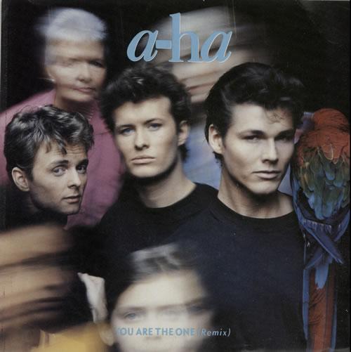 "A-Ha You Are The One 7"" vinyl single (7 inch record) UK AHA07YO38389"