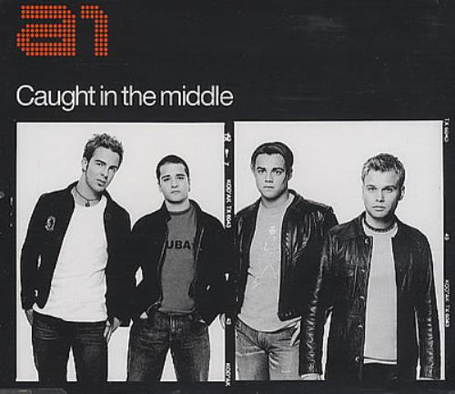 """A1 Caught In The Middle CD single (CD5 / 5"""") UK A11C5CA282301"""