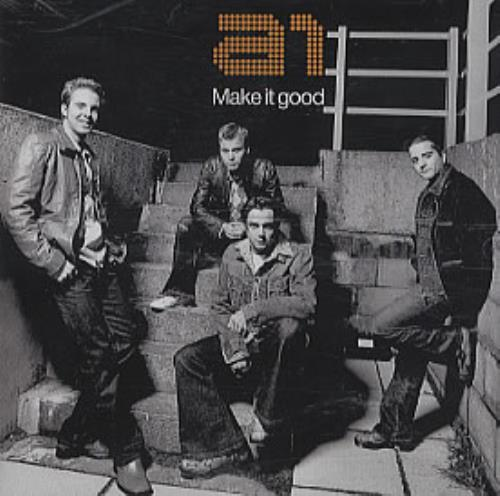 "A1 Make It Good CD single (CD5 / 5"") Japanese A11C5MA312508"