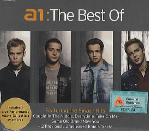A1 The Best Of 2 CD album set (Double CD) Singapore A112CTH310548