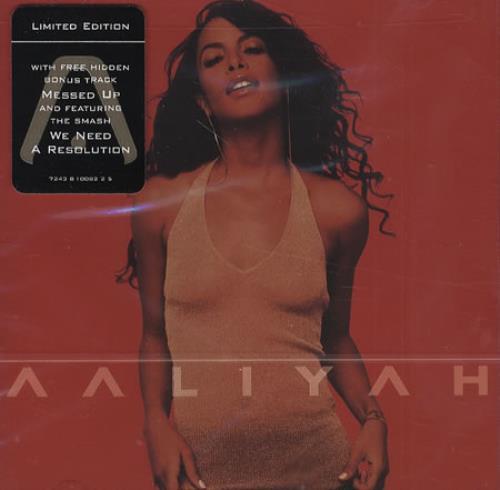 Aaliyah Aaliyah Us Cd Album Cdlp 200015