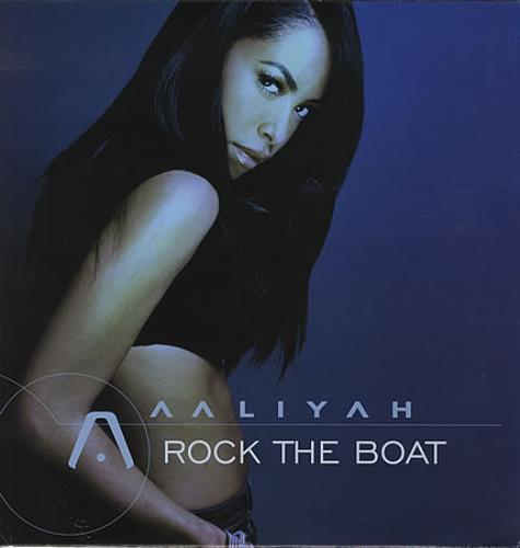"Aaliyah Rock The Boat UK 12"" vinyl single (12 inch record ..."