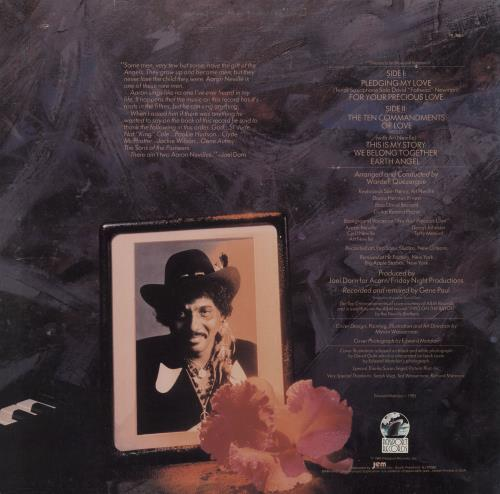 Aaron Neville Orchid In The Storm vinyl LP album (LP record) US AARLPOR718075