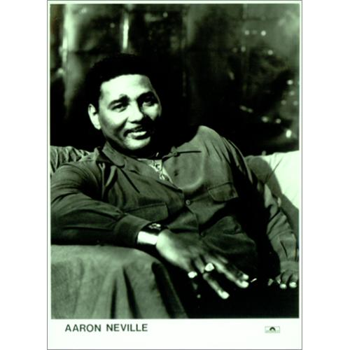 Aaron Neville Warm Your Heart photograph UK AARPHWA413932