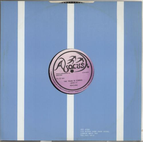 """Abacush The Train Is Coming 12"""" vinyl single (12 inch record / Maxi-single) UK Q9H12TH709715"""