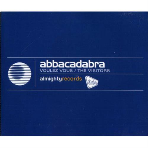 """Abbacadabra Voulez Vous CD single (CD5 / 5"""") Australian A-AC5VO56976"""