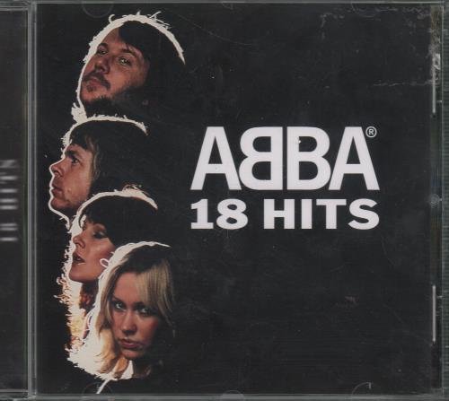 Abba 18 Hits CD album (CDLP) German ABBCDHI652982
