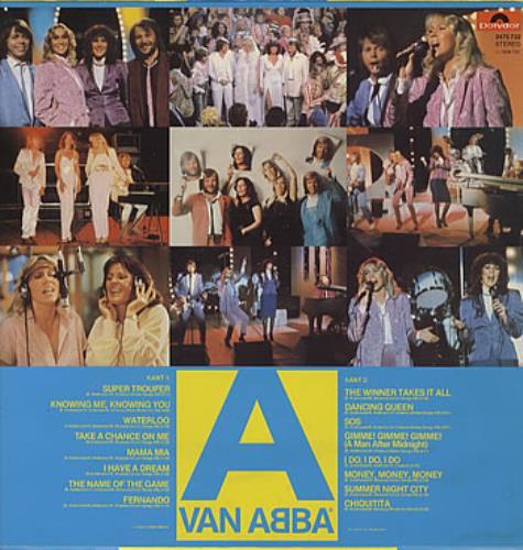 Abba A Van Abba vinyl LP album (LP record) Dutch ABBLPAV307576