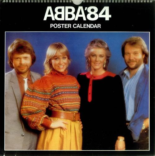 Abba Abba 84 Uk Calendar 447696 Calendar