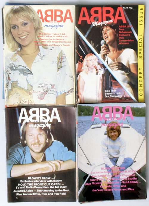 Abba Abba Magazine - 37 Issues magazine UK ABBMAAB559992