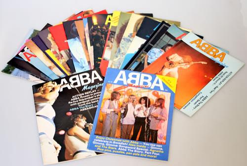 Abba Abba Magazine - Issues 19, 21-41 fanzine UK ABBFAAB555955