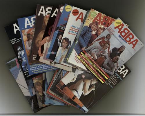 Abba Abba Magazine - Thirty-Three Issues fanzine UK ABBFAAB591035