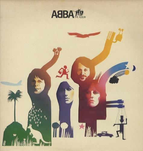Abba ABBA The Album + Inner vinyl LP album (LP record) Italian ABBLPAB442692