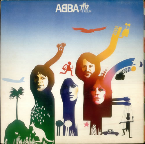 Abba ABBA The Album vinyl LP album (LP record) UK ABBLPAB169585