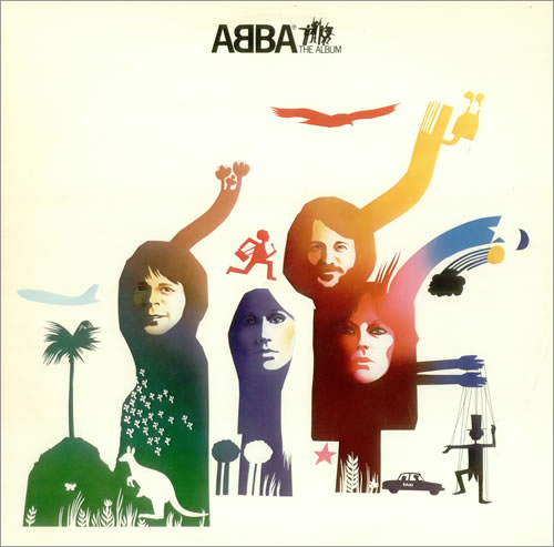 Abba ABBA The Album vinyl LP album (LP record) Swedish ABBLPAB445933