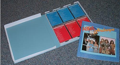 Abba Abba Vs. Arabesque Cassette Box Japanese ABBXCAB200440