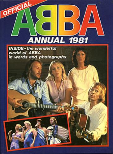 Abba Annual 1981 book UK ABBBKAN231622