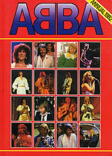Abba Annual 1982 book UK ABBBKAN275938