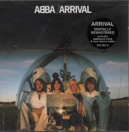 Abba Arrival - The ABBA Remasters CD album (CDLP) UK ABBCDAR17144