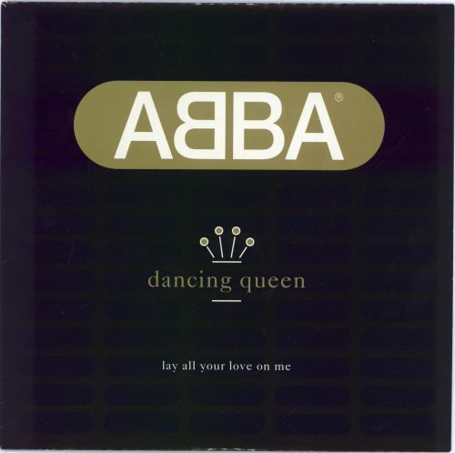 "Abba Dancing Queen 7"" vinyl single (7 inch record) UK ABB07DA34568"