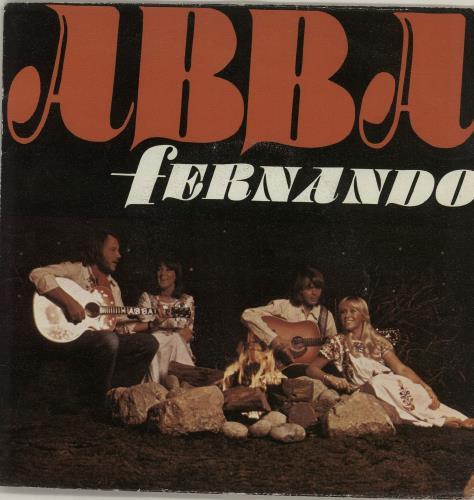 "Abba Fernando 7"" vinyl single (7 inch record) Italian ABB07FE224598"