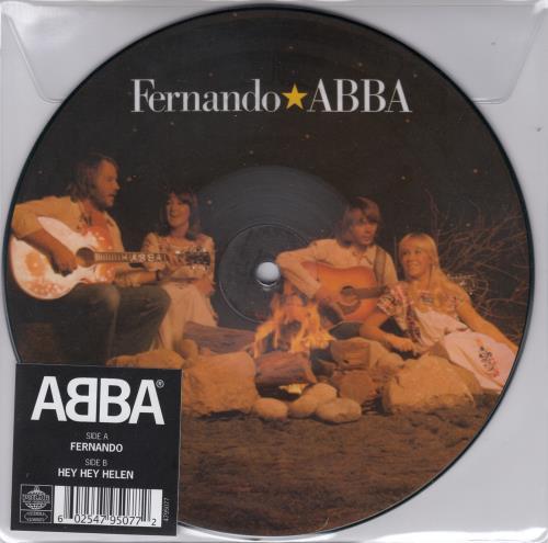 "Abba Fernando 7"" vinyl picture disc 7 inch picture disc single UK ABB7PFE659703"