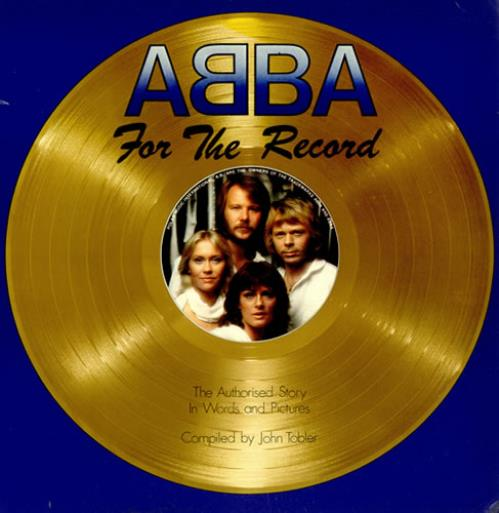 Abba For The Record book UK ABBBKFO127354