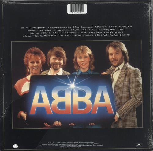 Abba Gold - Gold Vinyl - Sealed 2-LP vinyl record set (Double Album) UK ABB2LGO730536