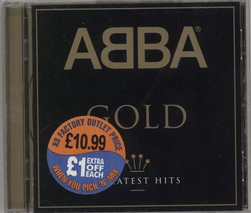 Abba Gold CD album (CDLP) German ABBCDGO573989