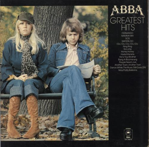 Abba Greatest Hits - 2nd vinyl LP album (LP record) UK ABBLPGR361133