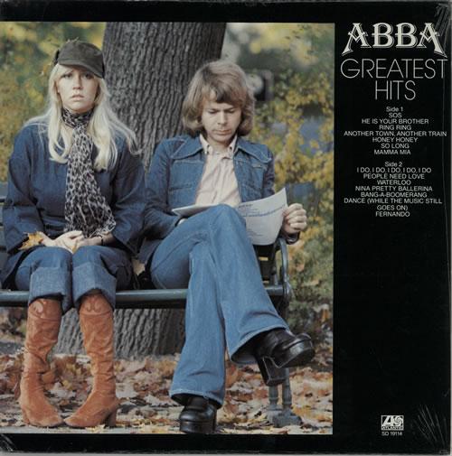 Abba Greatest Hits - Record Club Issue, Sealed vinyl LP album (LP record) US ABBLPGR594520