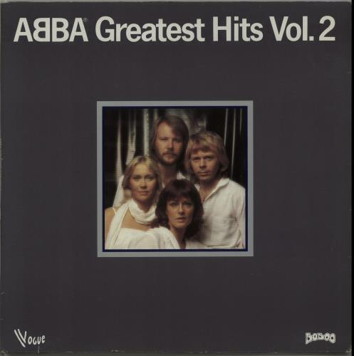 Abba Greatest Hits Vol. 2 - 1st vinyl LP album (LP record) French ABBLPGR653311