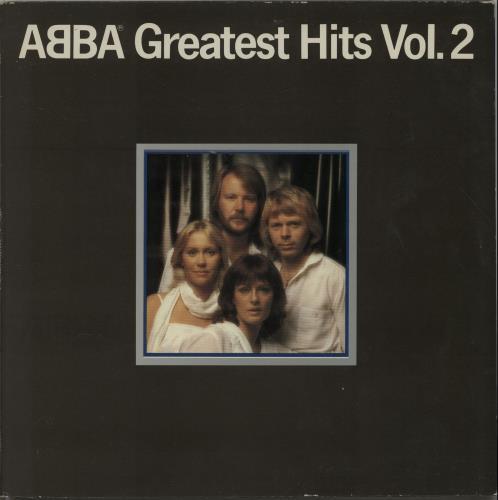 Abba Greatest Hits Vol. 2 - US Printed Sleeve vinyl LP album (LP record) UK ABBLPGR653312