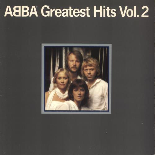 Abba Greatest Hits Vol. 2 vinyl LP album (LP record) UK ABBLPGR300219