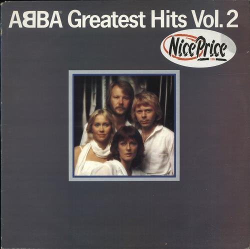 Abba Greatest Hits Vol. 2 vinyl LP album (LP record) UK ABBLPGR564921