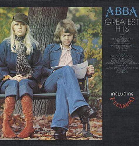 Abba Greatest Hits vinyl LP album (LP record) Italian ABBLPGR317280
