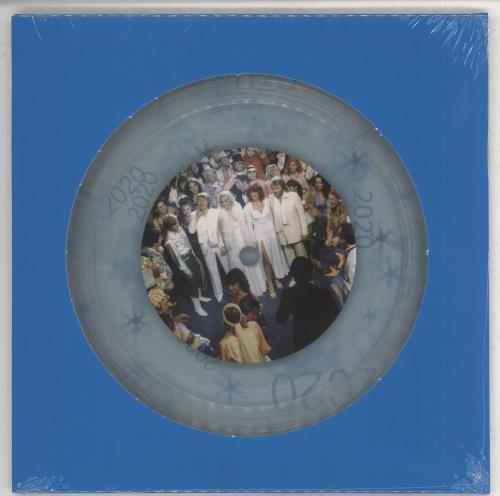 "Abba Happy New Year - Clear Vinyl + Numbered - Sealed 7"" vinyl single (7 inch record) UK ABB07HA735048"