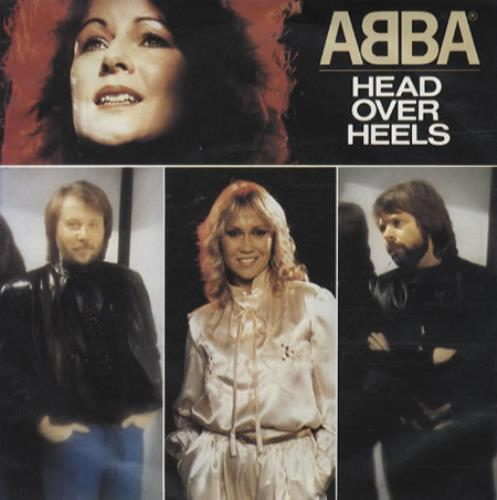 """Abba Head Over Heels - Injection Moulded 7"""" vinyl single (7 inch record) UK ABB07HE42475"""
