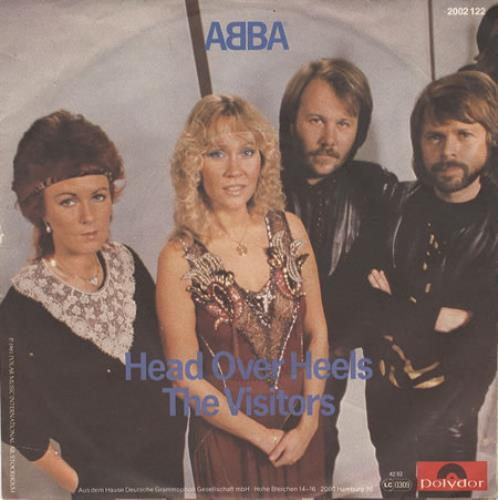 "Abba Head Over Heels 7"" vinyl single (7 inch record) German ABB07HE68437"