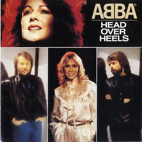 "Abba Head Over Heels 7"" vinyl single (7 inch record) Dutch ABB07HE81470"