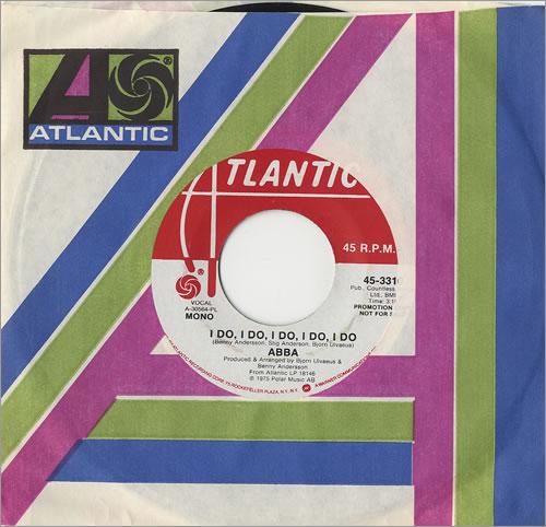 """Abba I Do, I Do, I Do, I Do, I Do 7"""" vinyl single (7 inch record) US ABB07ID485618"""