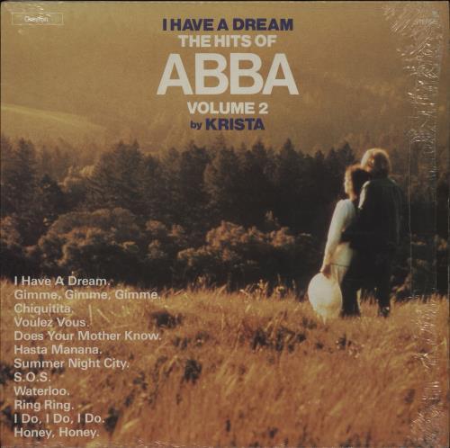 Abba I Have A Dream - The Hits Of ABBA Volume 2 vinyl LP album (LP record) UK ABBLPIH764257
