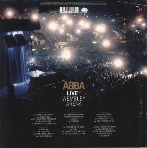 Abba Live At Wembley Arena - 180gram Vinyl - Sealed 3-LP vinyl record set (Triple Album) UK ABB3LLI741358