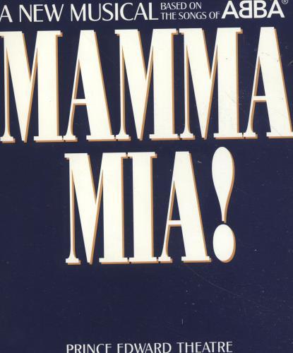 Abba Mamma Mia! + Ticket stubs tour programme UK ABBTRMA697785