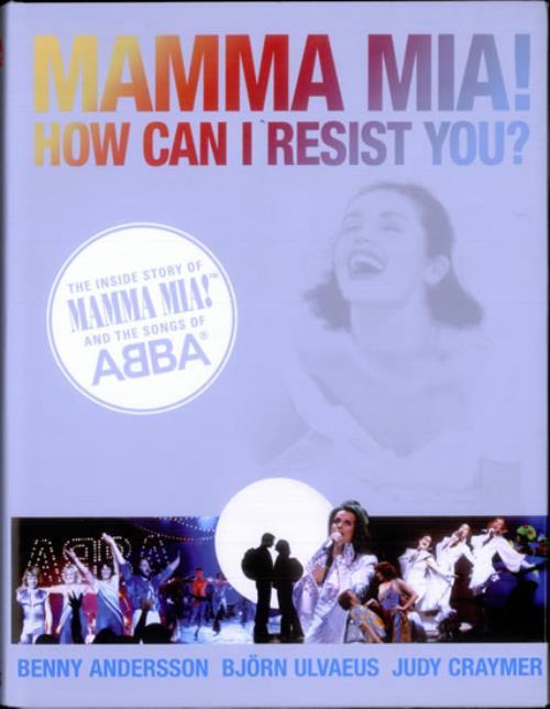 Abba Mamma Mia! How Can I Resist You? book UK ABBBKMA520442